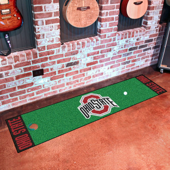 "18"" x 72"" Ohio State University Putting Green Runner Mat"