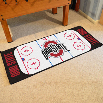 "30"" x 72"" Ohio State University Rink Runner Mat"