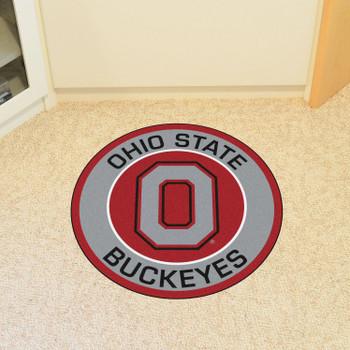 "27"" Ohio State University Roundel Round Mat"