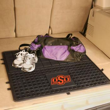 "31"" Oklahoma State Heavy Duty Vinyl Cargo Trunk Mat"