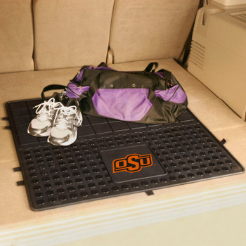"31"" Oklahoma State University Heavy Duty Vinyl Cargo Trunk Mat"