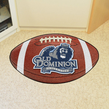 "20.5"" x 32.5"" Old Dominion University Football Shape Mat"