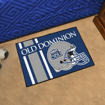 "19"" x 30"" Old Dominion University Uniform Blue Rectangle Starter Mat"