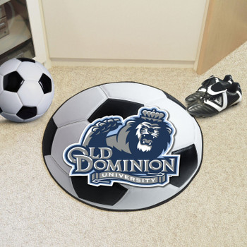 "27"" Old Dominion University Soccer Ball Round Mat"
