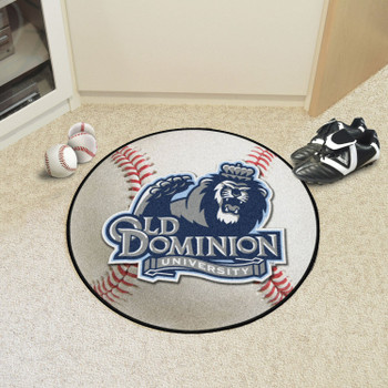 "27"" Old Dominion University Baseball Style Round Mat"