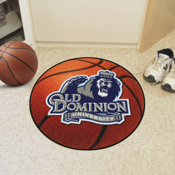 "27"" Old Dominion University Basketball Style Round Mat"