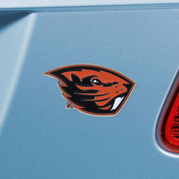 Oregon State University Black Color Emblem, Set of 2