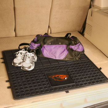 "31"" Oregon State University Heavy Duty Vinyl Cargo Trunk Mat"