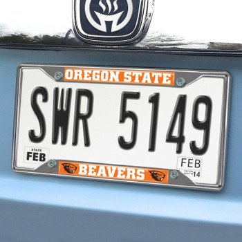 Oregon State University License Plate Frame