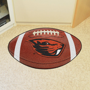 "20.5"" x 32.5"" Oregon State University Football Shape Mat"