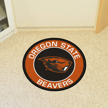 "27"" Oregon State University Roundel Round Mat"