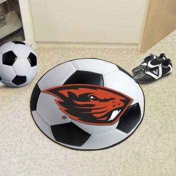 "27"" Oregon State University Soccer Ball Round Mat"