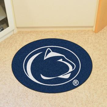 """Penn State Mascot Mat - """"Nittany Lion"""" Logo"""
