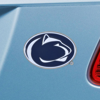 Penn State Blue Color Emblem, Set of 2