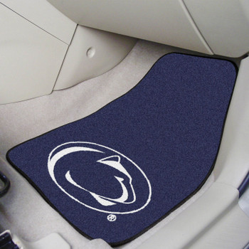 Penn State Blue Carpet Car Mat, Set of 2