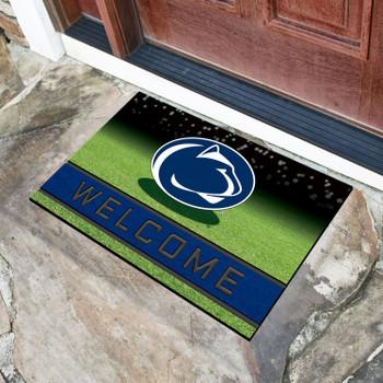 "18"" x 30"" Penn State Crumb Rubber Door Mat"