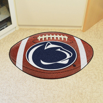 "20.5"" x 32.5"" Penn State Football Shape Mat"