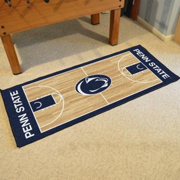 """30"""" x 72"""" Penn State NCAA Basketball Rectangle Runner Mat"""