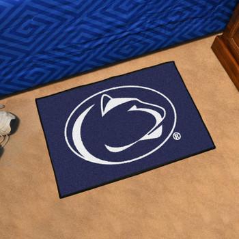 """19"""" x 30"""" Penn State Blue Rectangle Starter Mat"""