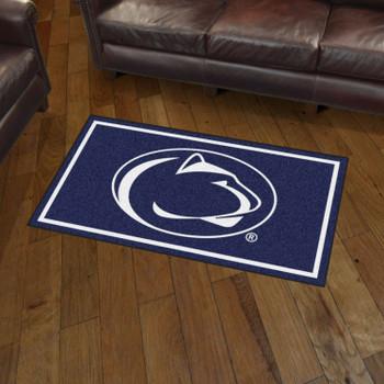 3' x 5' Penn State Blue Rectangle Rug