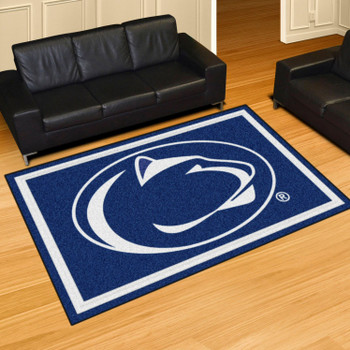 5' x 8' Penn State Blue Rectangle Rug