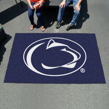 "59.5"" x 94.5"" Penn State Blue Rectangle Ulti Mat"
