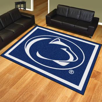 8' x 10' Penn State Blue Rectangle Rug