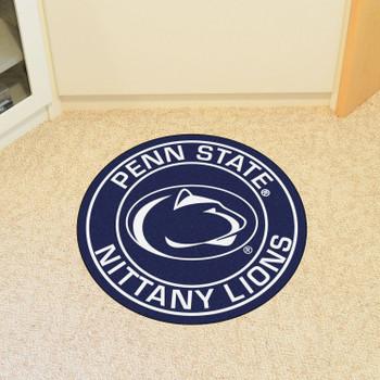 "27"" Penn State Roundel Round Mat"