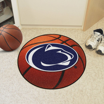 "27"" Penn State Basketball Style Round Mat"