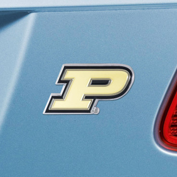 Purdue University Black Color Emblem, Set of 2