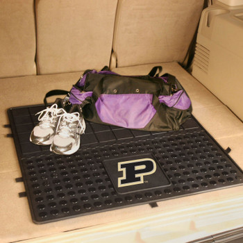 "31"" Purdue University Heavy Duty Vinyl Cargo Trunk Mat"