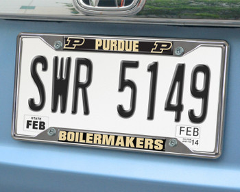 Purdue University License Plate Frame