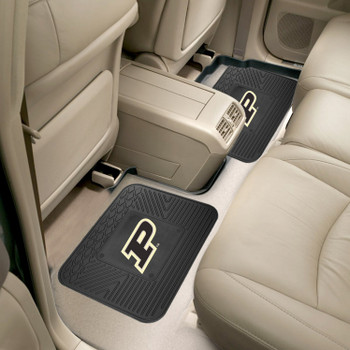 Purdue University Heavy Duty Vinyl Car Utility Mats, Set of 2