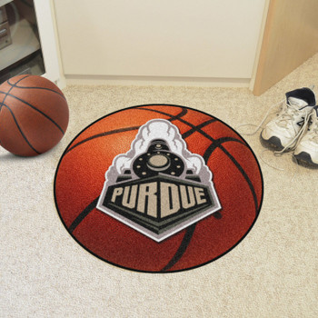 "20.5"" x 32.5"" Purdue University Football Shape Mat"