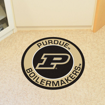 "27"" Purdue University Roundel Round Mat"