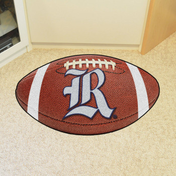 "20.5"" x 32.5"" Rice University Football Shape Mat"