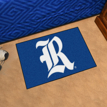 "19"" x 30"" Rice University Blue Rectangle Starter Mat"