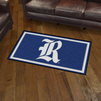 3' x 5' Rice University Blue Rectangle Rug