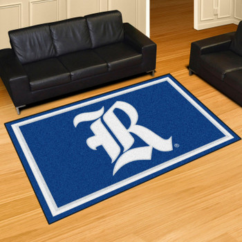 5' x 8' Rice University Blue Rectangle Rug