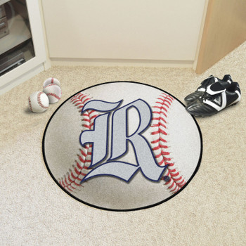 "27"" Rice University Baseball Style Round Mat"
