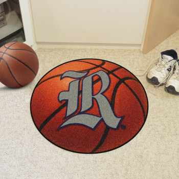 "27"" Rice University Basketball Style Round Mat"