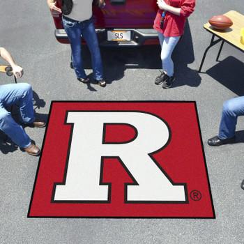 "59.5"" x 71"" Rutgers University Red Tailgater Mat"