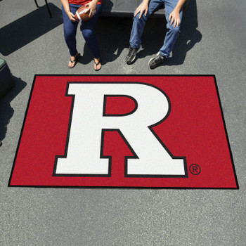 "59.5"" x 94.5"" Rutgers University Red Rectangle Ulti Mat"