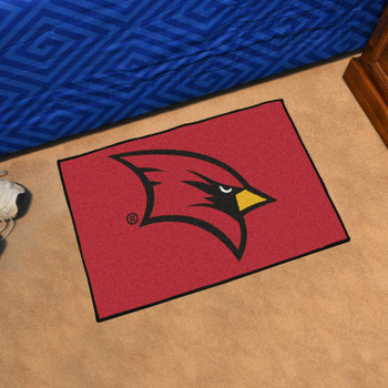 "19"" x 30"" Saginaw Valley State University Red Rectangle Starter Mat"