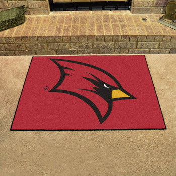 "33.75"" x 42.5"" Saginaw Valley State University All Star Red Rectangle Mat"