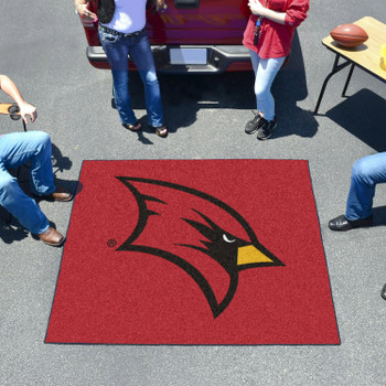 "59.5"" x 71"" Saginaw Valley State University Red Tailgater Mat"