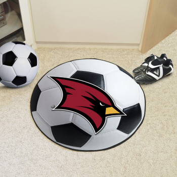 "27"" Saginaw Valley State University Soccer Ball Round Mat"