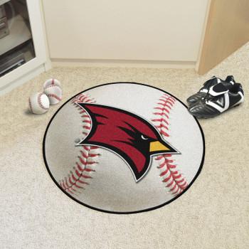 """27"""" Saginaw Valley State University Baseball Style Round Mat"""