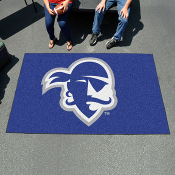"59.5"" x 94.5"" Seton Hall University Blue Rectangle Ulti Mat"
