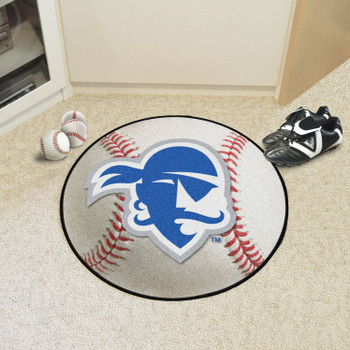 "27"" Seton Hall University Baseball Style Round Mat"